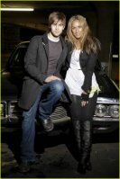 Leona Lewis with Chace Crawford of Gossip Girl