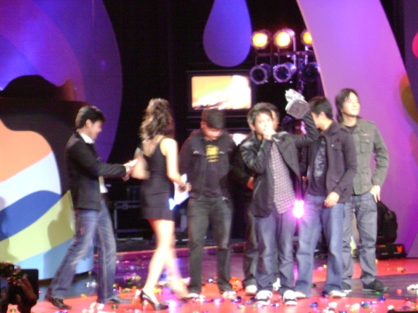 6cyclemind Favorite Group on MYX Music Awards 2009