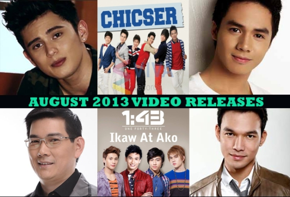 August 2013 Video Releases