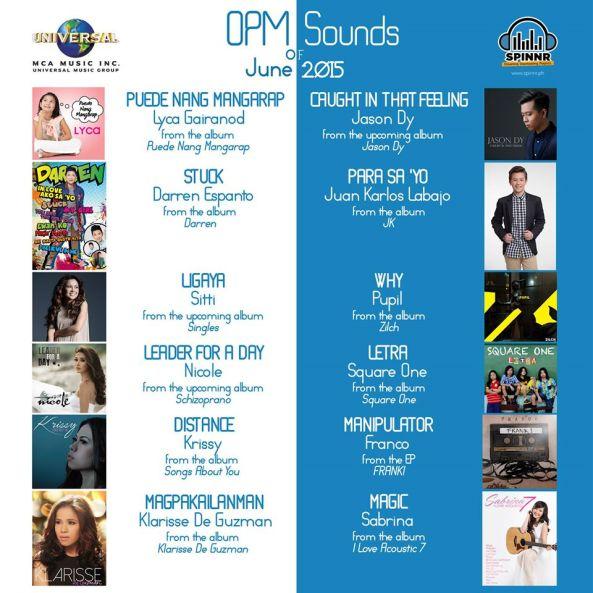MCA 2015 June Singles